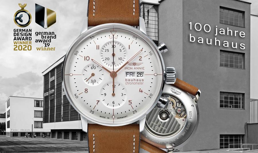 IRON ANNIE. 100 Jahre Bauhaus. Fragen Sie uns nach unserer neuesten Marke.