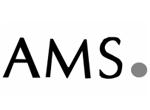 AMS Uhren Logo Schwarz Weiss