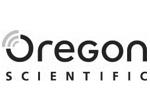 Oregon Scientific Uhren Logo Schwarz Weiss