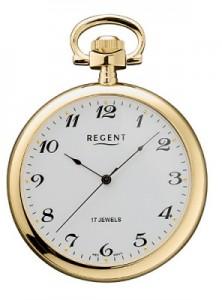 Regent Taschenuhr offen Gold