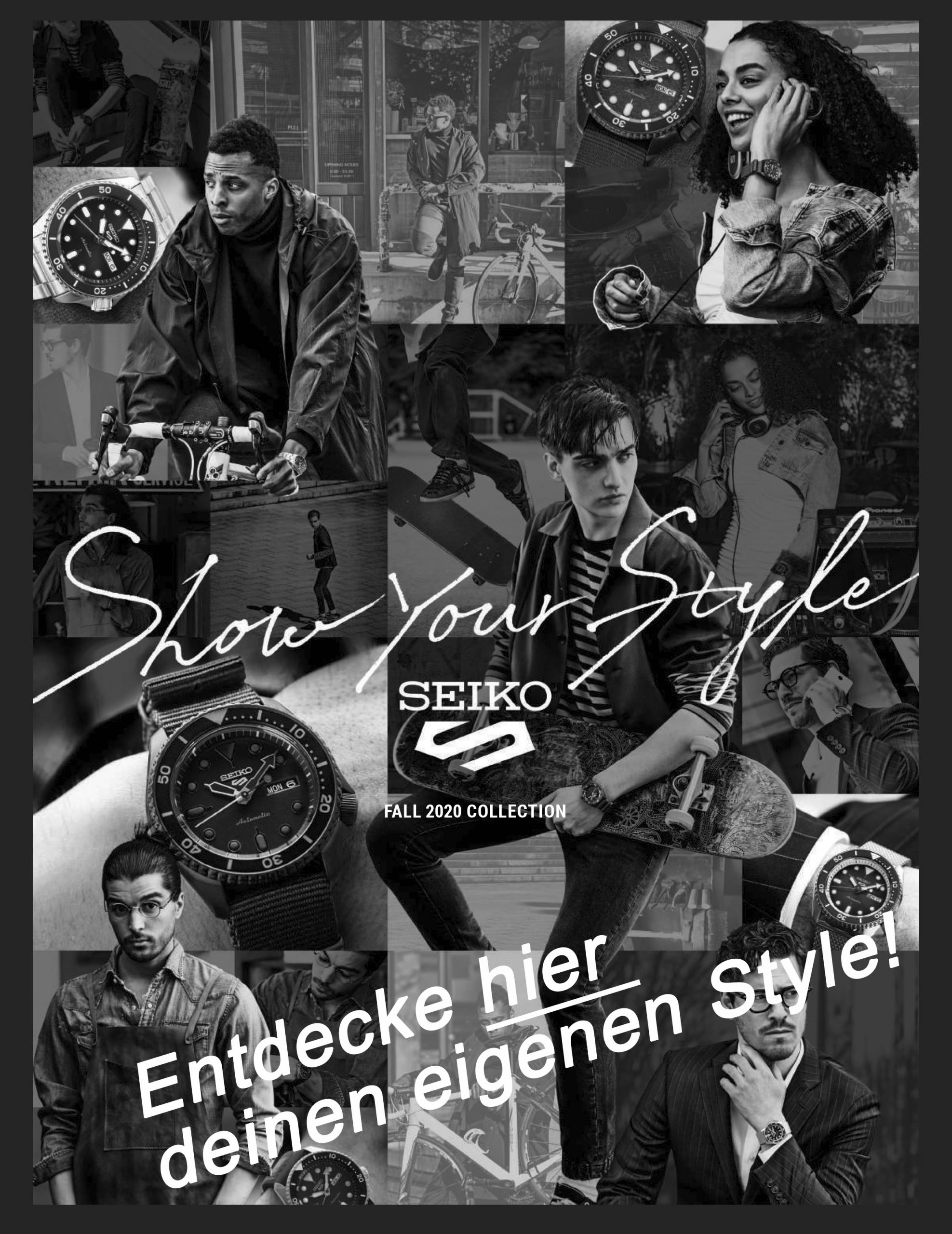 Seiko. Select your style. Die Winterkollektion aus Japan